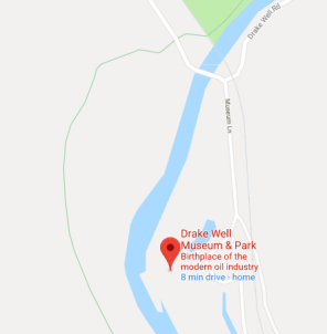 drake well map